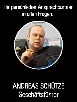Geschäftsführer Andreas Schütze