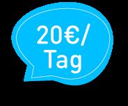 20 €/ Tag