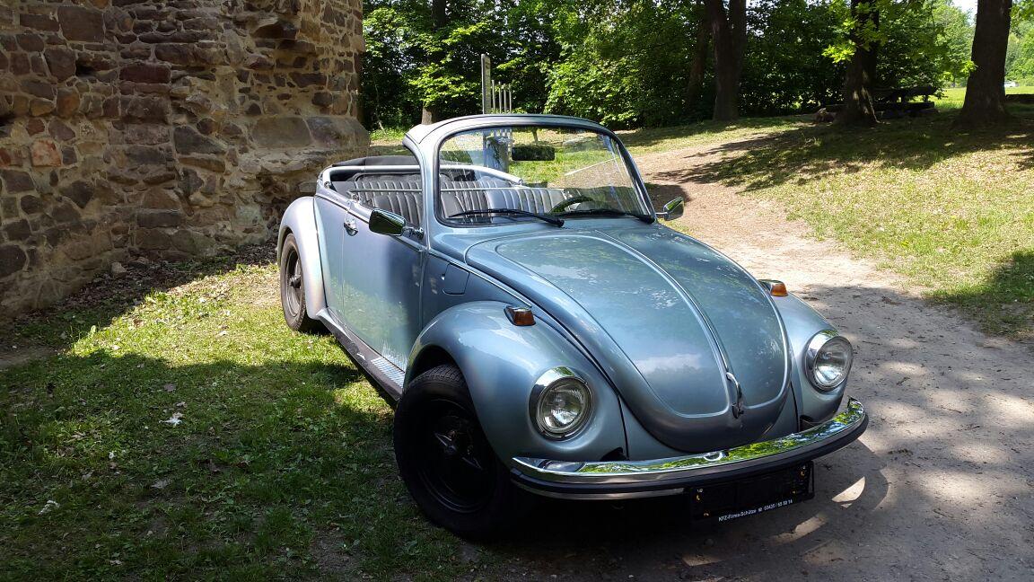 vw käfer 1303 cabrio baujahr 1973  kfzfirmaschütze